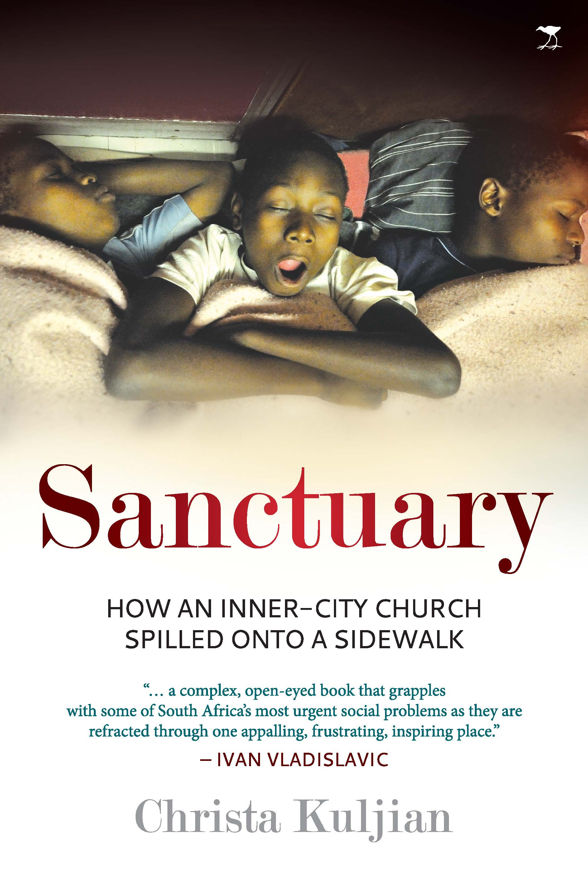 Book cover for Sanctuary, written by Chrisa Kuljian