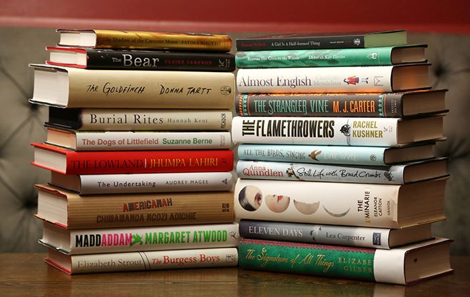 Bailey's Women Prize for Fiction Longlist