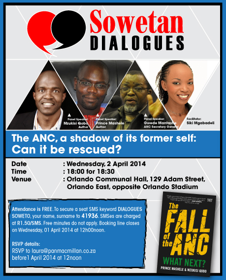Sowetan Dialogue - Fall of the ANC